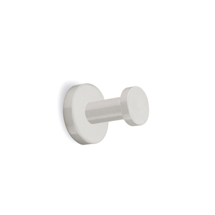 Bathroom Hook Modern Satin Nickel Robe Hook StilHaus ME13-36