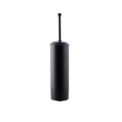 Toilet Brush Black Round Brass Toilet Brush Holder StilHaus SM039-23