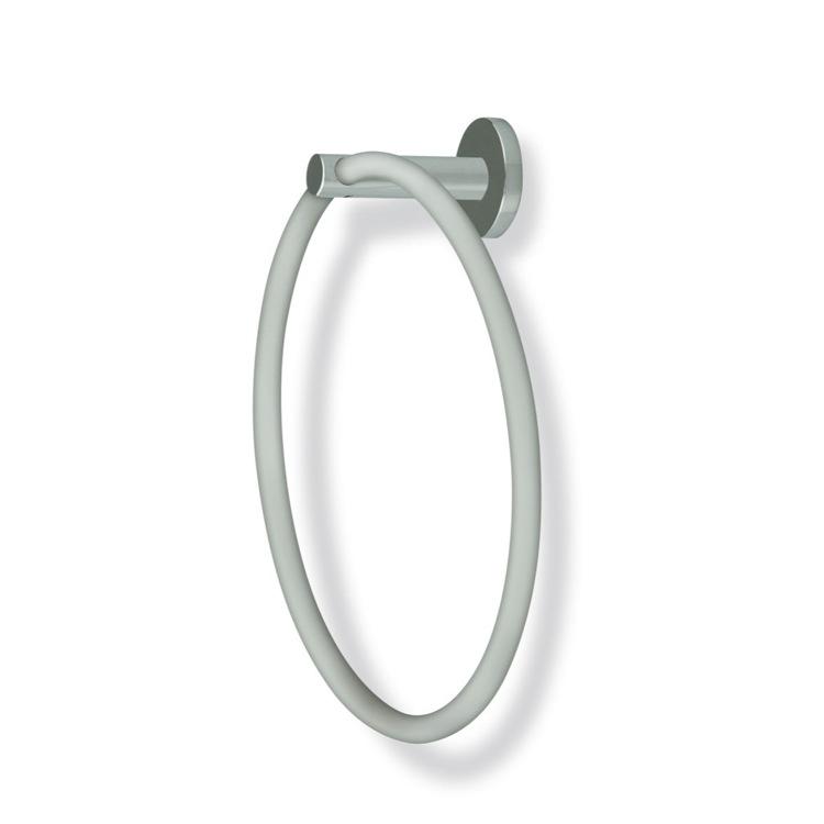 Towel Ring Round Satin Nickel Towel Ring StilHaus VE07-36
