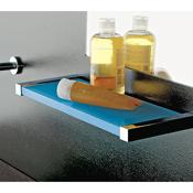 Bathroom Shelf Plexiglass Square 14 Inch Bathroom Shelf Toscanaluce 4510