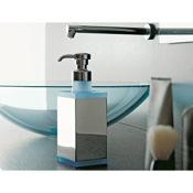 Soap Dispenser Square Brass and Plexiglass Soap Dispenser Toscanaluce 4563