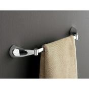 Towel Bar 18 Inch Polished Chrome Towel Bar Toscanaluce 5508