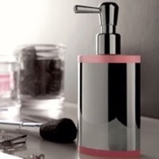 Soap Dispenser Round Brass and Plexiglass Soap Dispenser Toscanaluce 5563