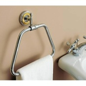Towel Ring Classic-Style Brass Towel Ring Toscanaluce 6517