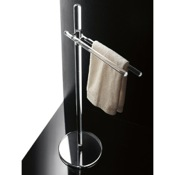 Towel Stand Free Standing Plexiglass Towel Stand Toscanaluce 790