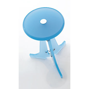 Bathroom Stool Plexiglass Round Bathroom Stool K128 Toscanaluce K128