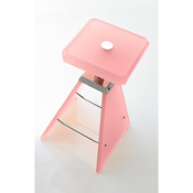 Bathroom Stool Plexiglass Square Bathroom Stool K129 Toscanaluce K129