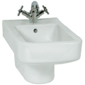 Bidet High-end Contemporary Square Ceramic Wall Hung Bidet Vitra 4329-003-0288