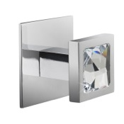 Bathroom Hook Moonlight Crystal Chrome Bathroom Hook Windisch 85571CR