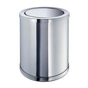 Waste Basket Brass Round Waste Bin With Swivel Lid Windisch 89183