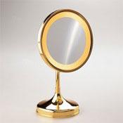 Makeup Mirror Pedestal Round 3x or 5x Magnifying Mirror Windisch 99151