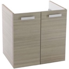 22 Inch Wall Mount Larch Canapa Bathroom Vanity Cabinet