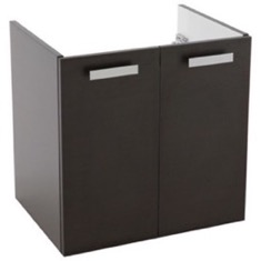 22 Inch Wall Mount Wenge Bathroom Vanity Cabinet