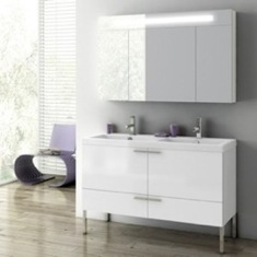 47 Inch Bathroom Vanity Set ANS09