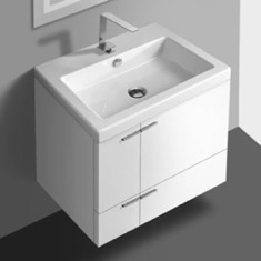 23 Inch Vanity Cabinet With Fitted Sink
