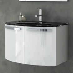 28 Inch Vanity Cabinet With Fitted Sink CD05