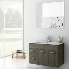 33 Inch Bathroom Vanity Set LOR02