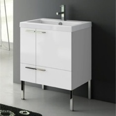 23 Inch Vanity Cabinet With Fitted Sink ANS30