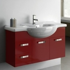 39 Inch Vanity Cabinet With Fitted Sink PH09