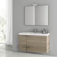 39 Inch Larch Canapa Bathroom Vanity Set ANS96