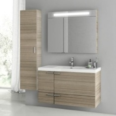 39 Inch Larch Canapa Bathroom Vanity Set ANS180