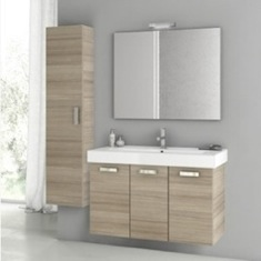 40 Inch Larch Canapa Bathroom Vanity Set C48
