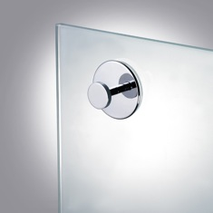 Suction Pad Robe or Towel Hook in Chrome