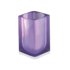 Lilac Square Toothbrush Holder