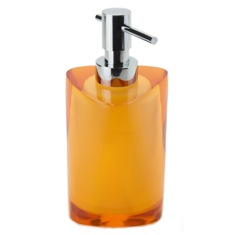 Amber Free Standing Soap Dispenser