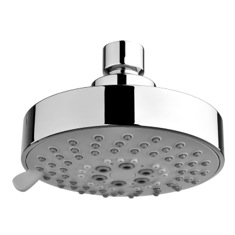 Chrome Shower Head With Five Functions A001074