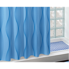 80x94 Blue Shower Curtain CO224-214