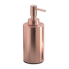 Rose Gold Finish Free Standing Soap Dispenser