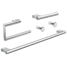 Five Piece Chrome Hardware Set