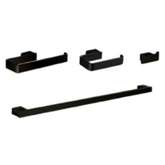 4 Piece Black Accessory Hardware Set