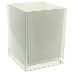 Free Standing Waste Basket With No Cover in Multiple Finishes