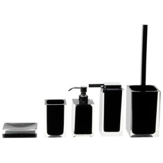Rainbow Black Accessory Set of Thermoplastic Resins