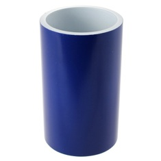 Round and Blue Bathroom Tumbler in Resin