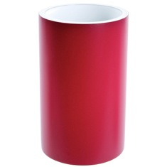 Round Ruby Red Free Standing Toothbrush Holder
