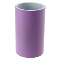 Free Standing Round Lilac Toothbrush Holder
