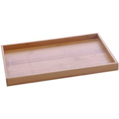Tray Made From Wood in Bamboo Finish