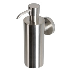 Wall Mounted Satin Stainless Steel Soap Dispenser