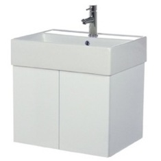 Iotti SM01C 2 Doors Vanity Cabinet with Self Rimming Sink SM01C