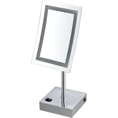 Single Face LED 3x Makeup Mirror