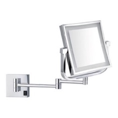 Double Face LED 5x Magnifying Mirror, Hardwired