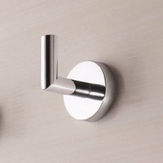 Modern Chrome Bathroom Hook