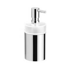 Round Modern Soap Dispenser