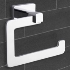 Modern Chrome Toilet Paper Holder