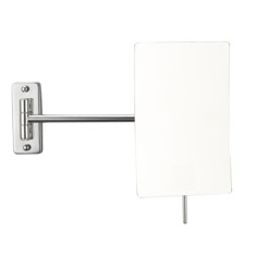 Wall Mounted Chrome 3x Shaving Mirror