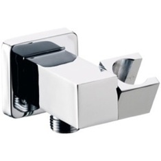 Square Shower Wall Bracket With Water Outlet