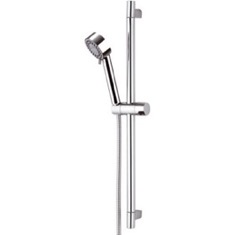 27 Inch Sliding Rail Hand Shower Set With 2 Function Hand Shower